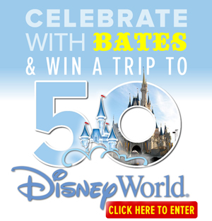 Win a trip to Disney World
